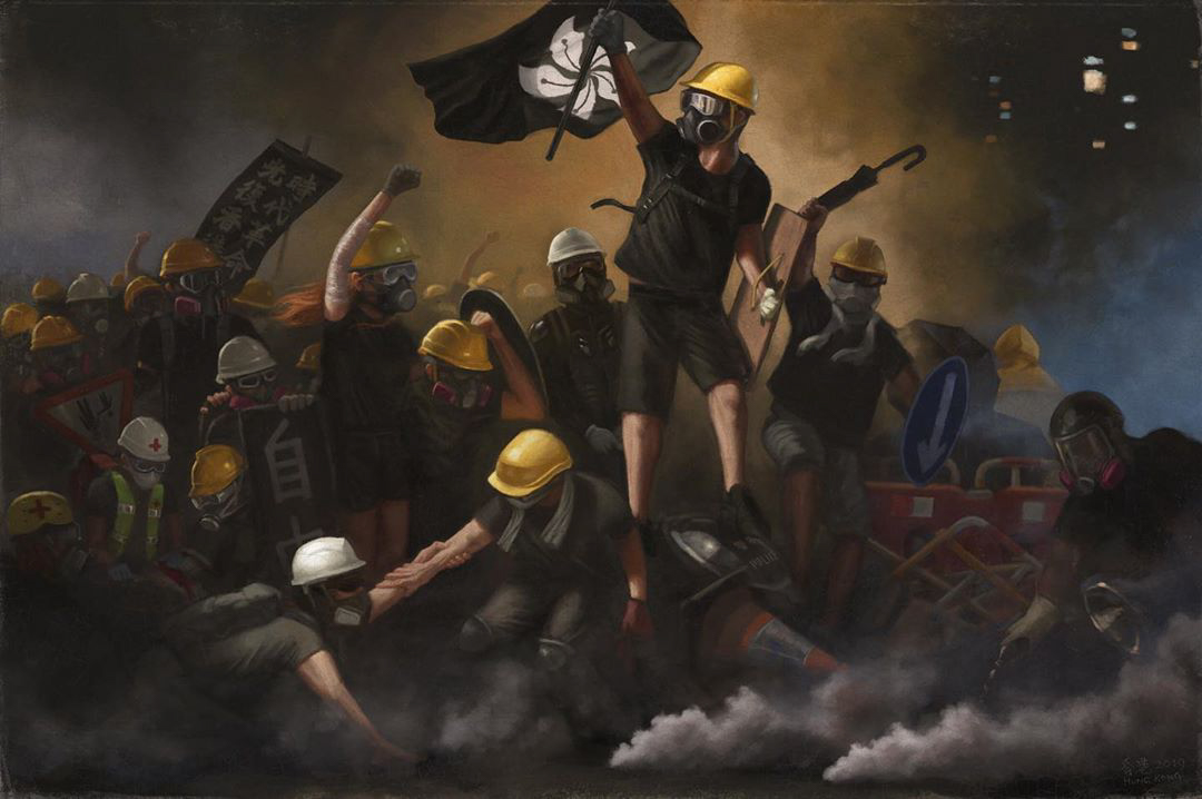 Hong Kong Protest ARt