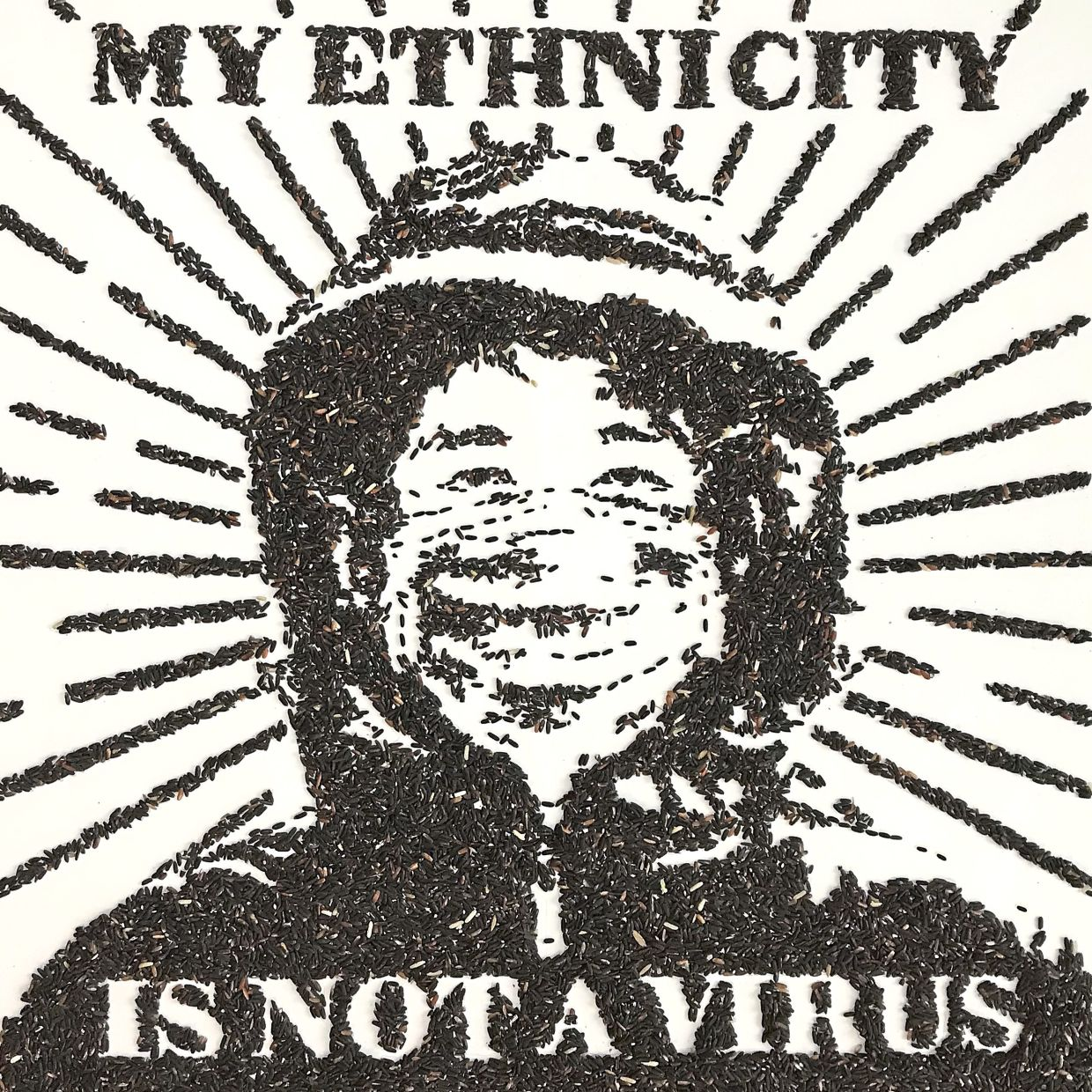My ethnicity is not a virus Red Hong Yi